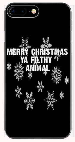 Merry Christmas Ya Filthy Animal Ugly Cheap Xmas Sweater - Phone Case for iPhone 6+, 6S+, 7+, 8+