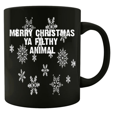Merry Christmas Ya Filthy Animal Ugly Cheap Xmas Sweater - Mug