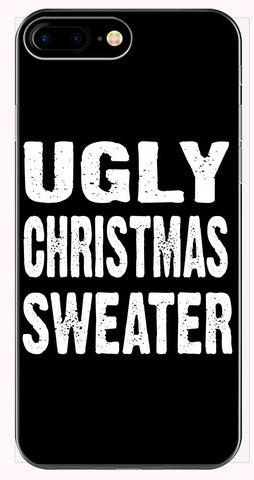 Merry Xmas Ugly Cheap Christmas Sweater - Phone Case for iPhone 6+, 6S+, 7+, 8+