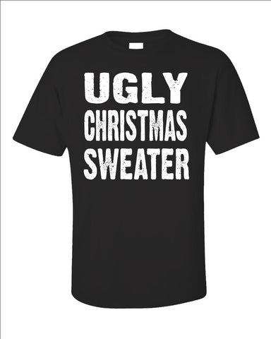 Merry Xmas Ugly Cheap Christmas Sweater - Unisex T-Shirt