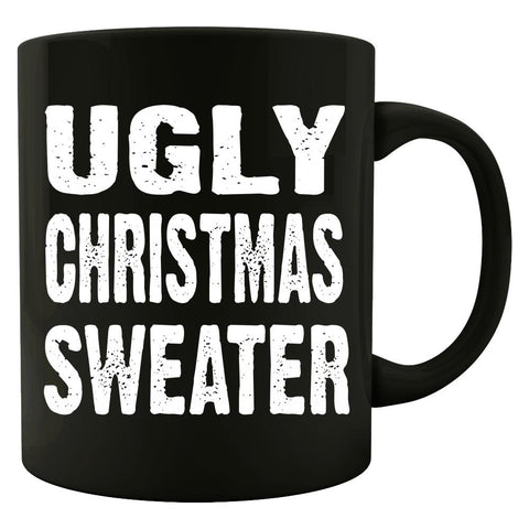 Merry Xmas Ugly Cheap Christmas Sweater - Mug