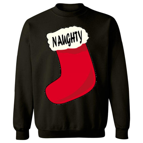 Naughty Merry Xmas Ugly Cheap Christmas Sweater - Sweatshirt