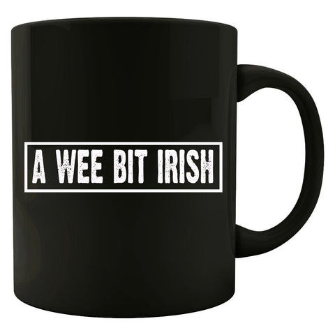 A Wee Bit Irish Funny - Colored Mug
