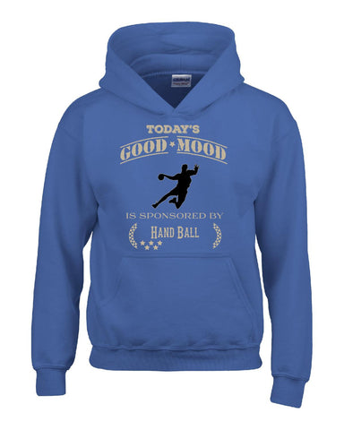 Todays Good Mood Is Sponsored By Hand Ball - Hoodie S-Royal- Cool Jerseys - 1