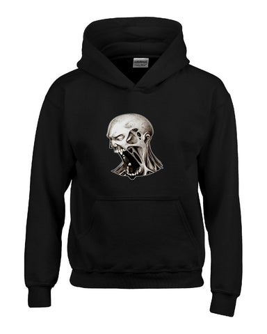 Dead Walking Scary Halloween Zombies Costume - Kids Hoodie Kids S-Black- Cool Jerseys - 1