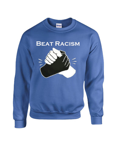Beat Racism And Racist In America USA - Sweatshirt S-Royal- Cool Jerseys - 1