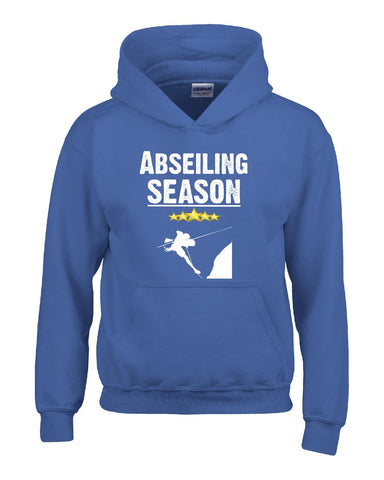 Abseiling Season Sport - Hoodie S-Royal- Cool Jerseys - 1