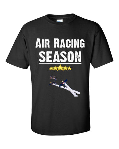 Air Racing Season Sport - Unisex Tshirt S-Black- Cool Jerseys - 1