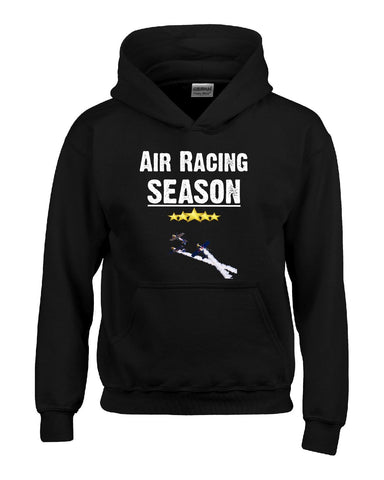Air Racing Season Sport - Hoodie S-Black- Cool Jerseys - 1