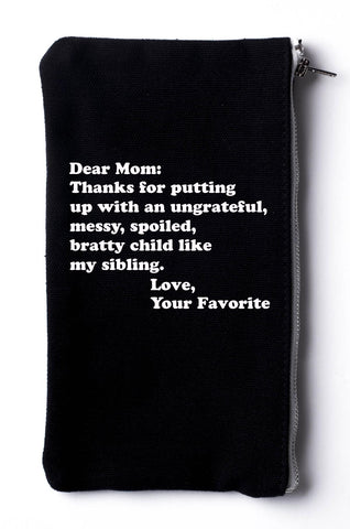 Thanks Mom For Putitng Up With An Ungrateful Spoiled Child. - -Black- Cool Jerseys