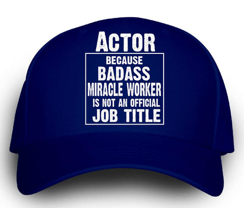Actor Cos Badass Miracle Worker Is Not A Job Title - Cap