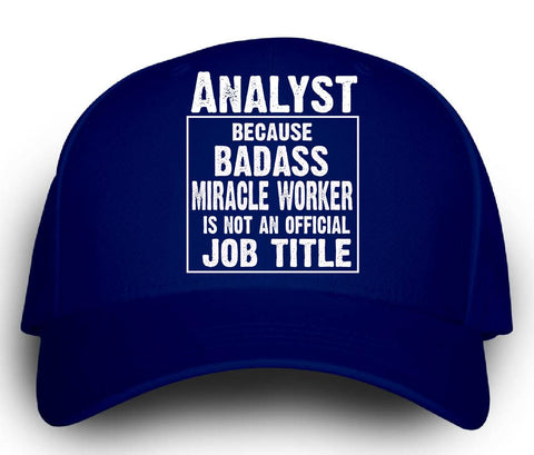 Analyst Cos Badass Miracle Worker Is Not A Job Title - Cap