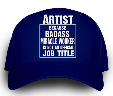 Artist Cos Badass Miracle Worker Is Not A Job Title - Cap
