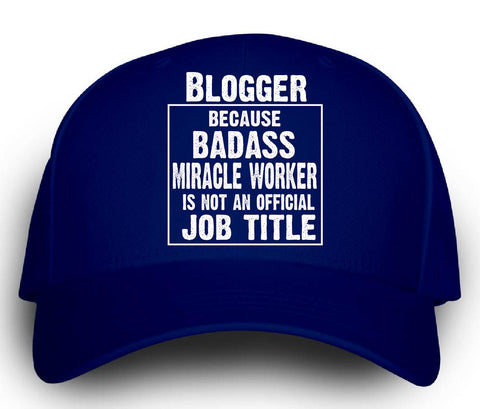 Blogger Cos Badass Miracle Worker Is Not A Job Title - Cap