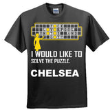 Chelsea Football Shirt - Ultra Cotton™ 100% Cotton T Shirt S-Black- Cool Jerseys - 5