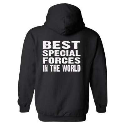 Best Special Forces In The World - Heavy Blend™ Hooded Sweatshirt BACK ONLY S-Black- Cool Jerseys - 1