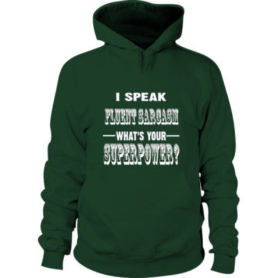 I Speak Fluent Sarcasm - Hoodie - Cool Jerseys - 1