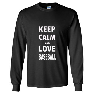 Keep Calm And Love Baseball - Cool Jerseys - 1