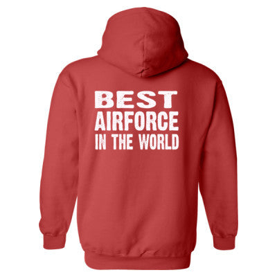 Best Airforce In The World - Heavy Blend™ Hooded Sweatshirt BACK ONLY S-Paprika- Cool Jerseys - 1