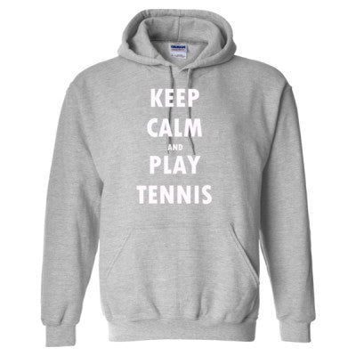 Keep Calm And Play Tennis - Heavy Blend™ Hooded Sweatshirt - Cool Jerseys - 1