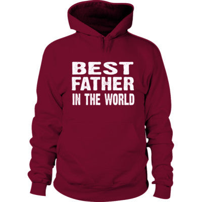 Best Father In The World - Hoodie S-Garnet- Cool Jerseys - 1