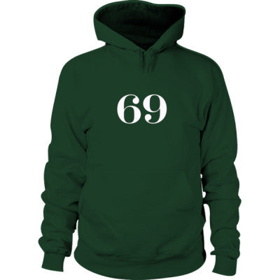 69 Hoodie S-Forest Green- Cool Jerseys - 1