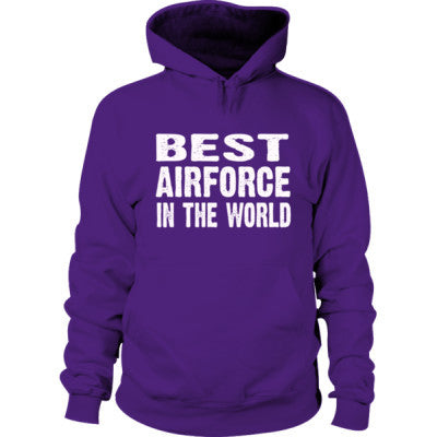 Best Airforce In The World - Hoodie S-Purple- Cool Jerseys - 1