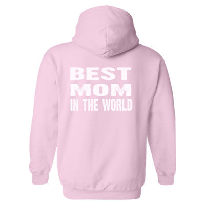 Best Mom In The World - Heavy Blend™ Hooded Sweatshirt BACK ONLY S-Light Pink- Cool Jerseys - 1