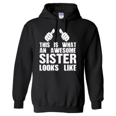 Gift Ideas For Sister - Heavy Blend™ Hooded Sweatshirt - Cool Jerseys - 1