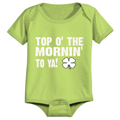 Top Of The Morning - Infant 1 Piece - Cool Jerseys - 1