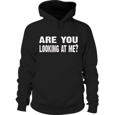Are you looking at me Hoodie S-Black- Cool Jerseys - 1