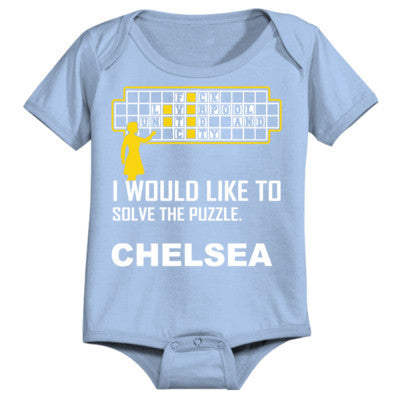 Chelsea Football Shirt - Infant 1 Piece 24M-Light Blue- Cool Jerseys - 1