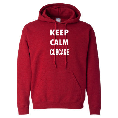 Keep Calm Cubcake - Heavy Blend™ Hooded Sweatshirt S-Antique Cherry Red- Cool Jerseys - 1