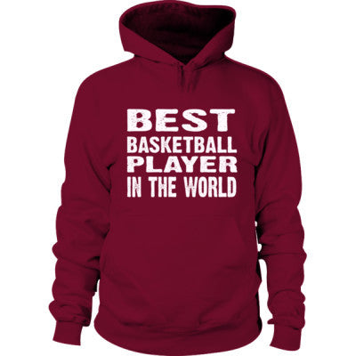 Best Basketball Player In The World - Hoodie S-Garnet- Cool Jerseys - 1