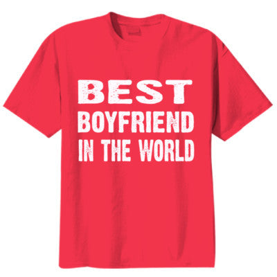 Best Boyfriend In The World - Youth Boys Short-Sleeve T-Shirt - Cool Jerseys - 1