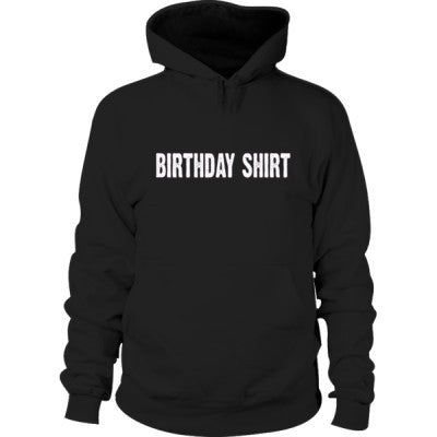 Birthday shirt - Hoodie S-Black- Cool Jerseys - 1