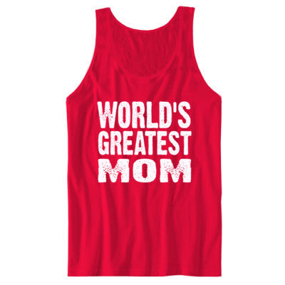 Worlds Greatest Mom - Unisex Jersey Tank - Cool Jerseys - 1
