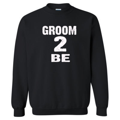 Groom To Be shirt - Heavy Blend™ Crewneck Sweatshirt S-Black- Cool Jerseys - 1
