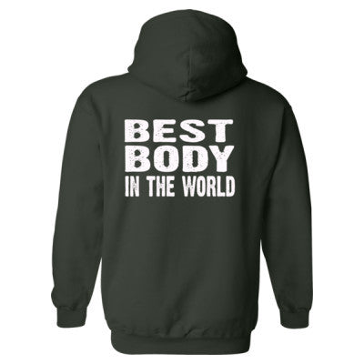 Best Body In The World - Heavy Blend™ Hooded Sweatshirt BACK ONLY S-Forest- Cool Jerseys - 1