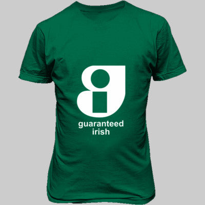 Guaranteed Irish - Unisex T-Shirt FRONT Print - Cool Jerseys - 1