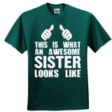 My Sister Is Awesome - Ultra Cotton™ 100% Cotton T Shirt - Cool Jerseys - 2