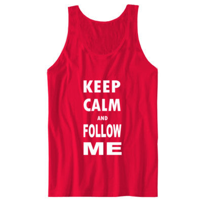 Keep Calm And Follow Me - Unisex Jersey Tank - Cool Jerseys - 1