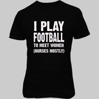 I Play Football To Meet Women S-Real black- Cool Jerseys - 1