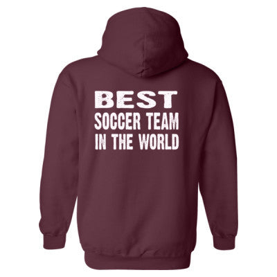Best Soccer Team In The World - Heavy Blend™ Hooded Sweatshirt BACK ONLY S-Maroon- Cool Jerseys - 1