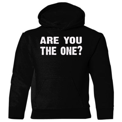 Are you the one Heavy Blend Children's Hooded Sweatshirt S-Black- Cool Jerseys - 1