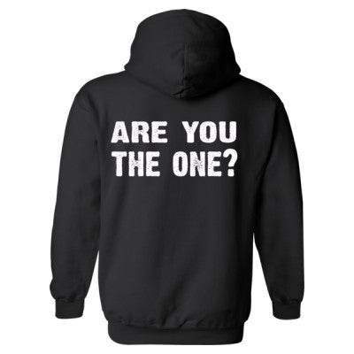 Are you the one Heavy Blend™ Hooded Sweatshirt BACK ONLY S-Black- Cool Jerseys - 1