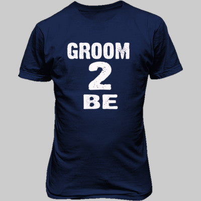 Groom To Be shirt - Unisex T-Shirt FRONT Print S-Metro Blue- Cool Jerseys - 1