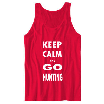 Keep Calm And Go Hunting - Unisex Jersey Tank - Cool Jerseys - 1