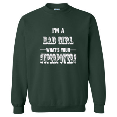 Im A Bad Girl - Heavy Blend™ Crewneck Sweatshirt - Cool Jerseys - 1