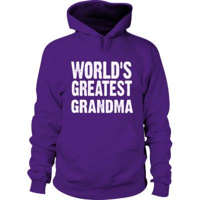 Worlds Greatest Grandma - Hoodie - Cool Jerseys - 1